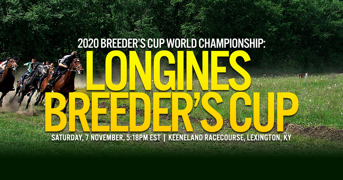 2020 Breeder's Cup World Championship: Longines Breeder's Cup Classic
