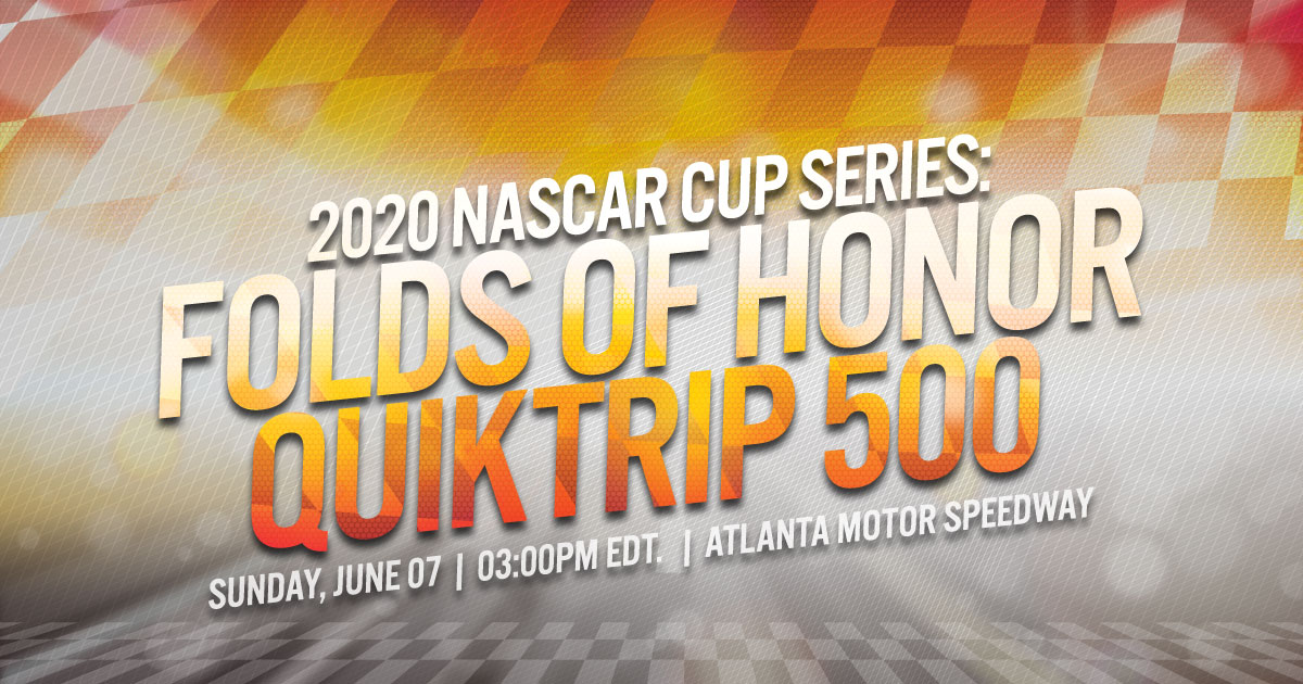 2020 NASCAR Cup Series: Folds of Honor Quiktrip 500