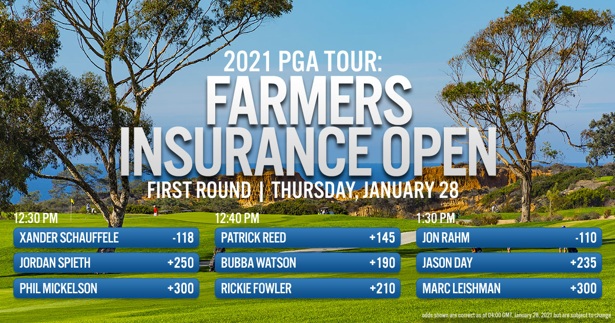 2021 PGA Tour: Farmers Insurance Open